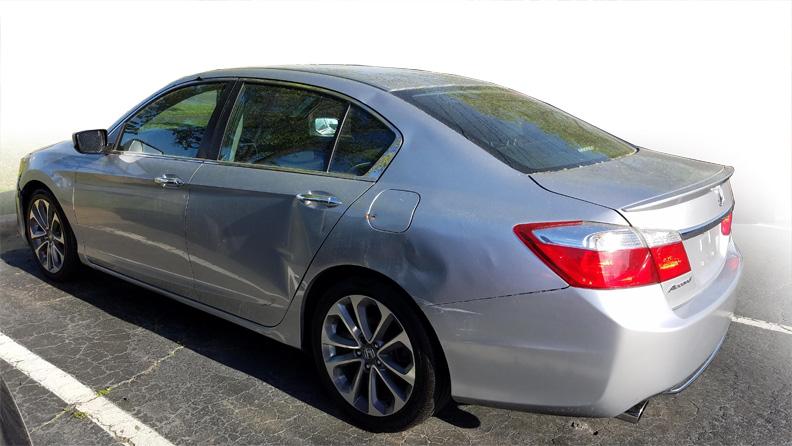 For Sale Repo 2013 Honda Accord Back