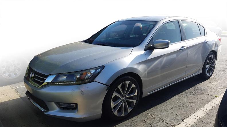 For Sale Repo 2013 Honda Accord Front