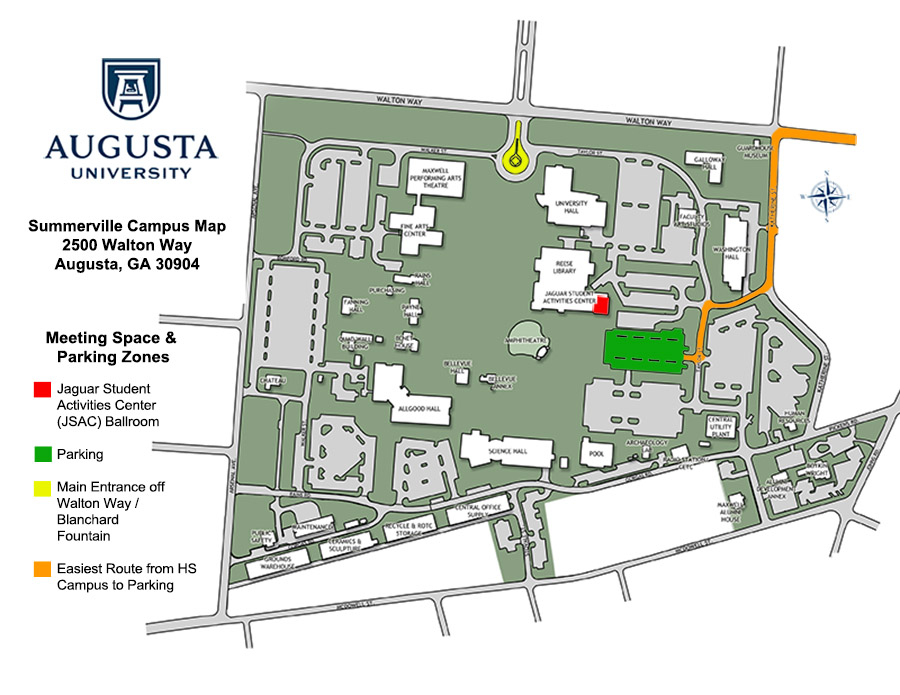 Annual Meeting Location Map